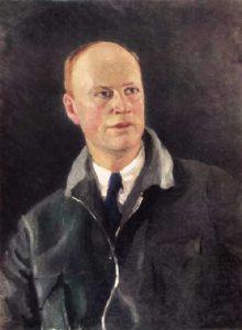 Soviet artist Igor Grabar