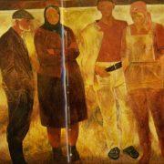 In the field. M. Savitsky. 1971
