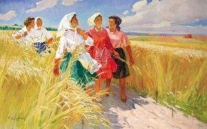 Konstantin Shurupov (1910 - 1985). After work. 1970