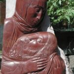 Lamentation. stone (quartzite). 2005