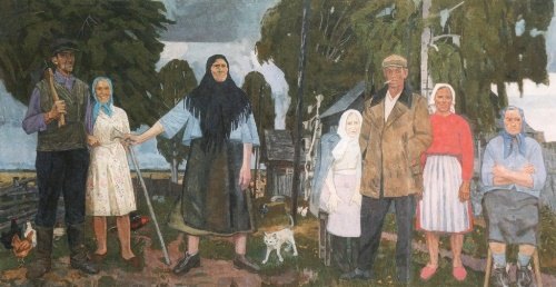 Last residents of the village of Martus. 1975-2001. Property of the artist