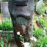 Soviet sculptor Nikita-Gleb Lavinsky