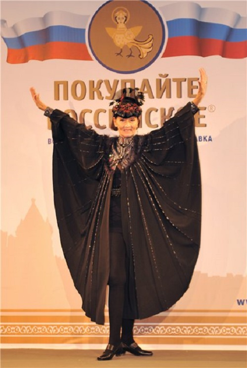 Leka Mironova at the age of 71
