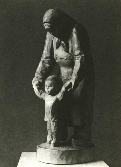 Lyudmila Yelchaninova. First steps. Tree. 1983