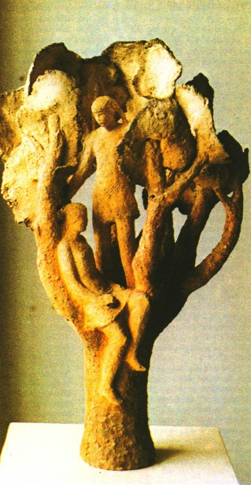 Soviet sculptor Lyudmila Yelchaninova