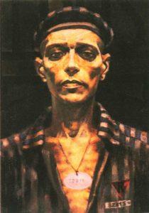 Prisoner 32815. Fragment. Oil. 1976