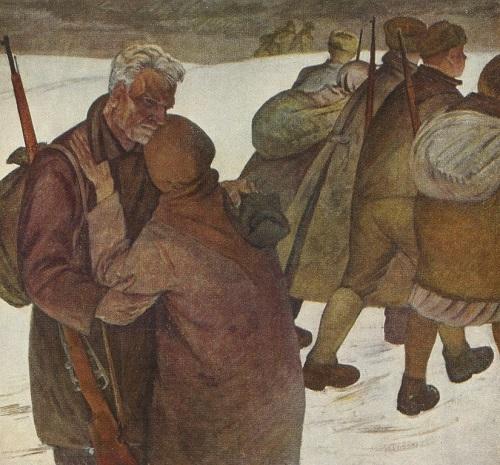 Partisans. 1963. Oil on canvas