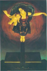 Madonna of Birkenau. 1978