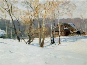 Soviet artist Fyodor Vasilyevich Shapayev