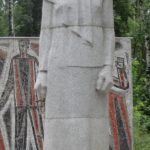 Grieving mother monument in Smolensk