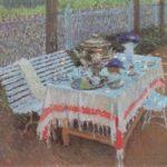 Soviet artist Mikhail Arkadievich Suzdaltsev 1917-1998