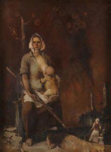 Soviet artist Ivan Ivanov-Sakach
