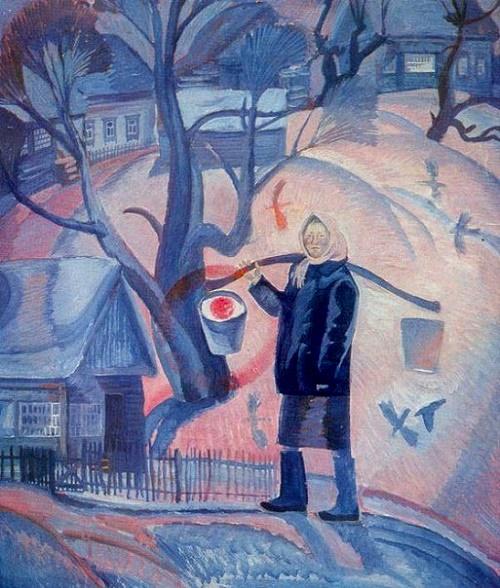 Soviet artist Oleg Savostyuk