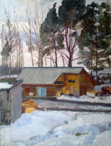 Painting by Anatoly Yudin