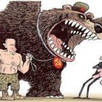 Soviet political cartoonist Boris Yefimov