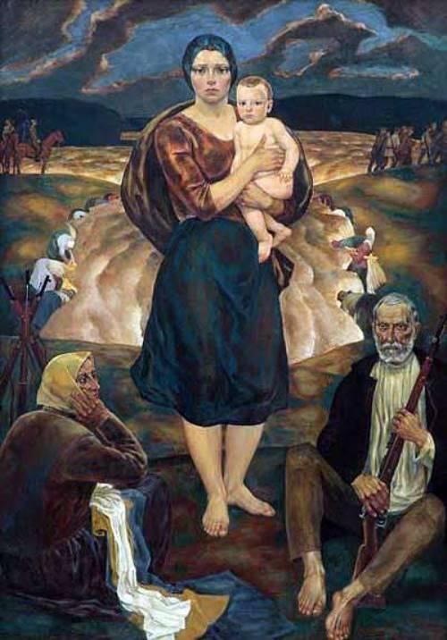 1978 painting Partisan Madonna (Minsk)