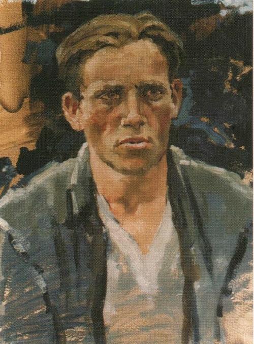 Soviet painter Andrei Gorsky