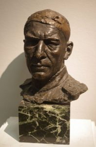 Major AV Sokolovsky. 1945. Bronze