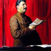Portrait of Stalin