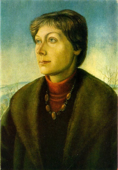 Portrait of Vilfrida Vatenbakh. 1979