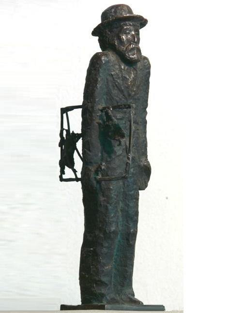 Portrait of artist. Bronze. 1990