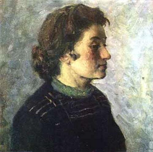 Soviet painter Konstantin Maksimov