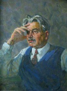 Soviet artist Pavel Fyodorovich Sudakov