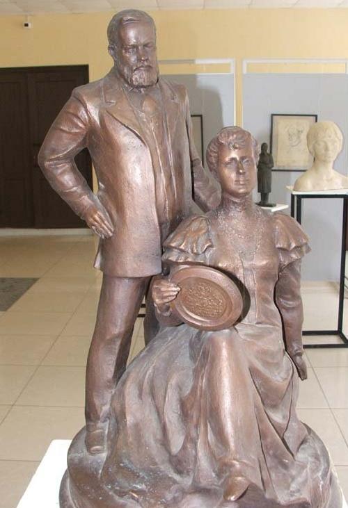 Princess Maria Tenisheva and Prince Vyacheslav Nikolayevich Tenishev