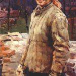 Socialist realism painter Nina Veselova