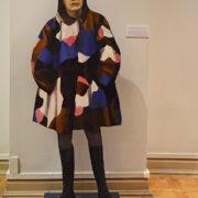 Self-portrait. 1995. From the installation 'Transition'. Tatyana Nazarenko (born 1944)