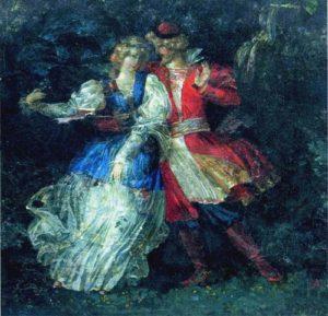 Soviet artist Vasily Hvostenko