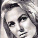 Soviet Latvian actress Vija Artmane 1929-2008