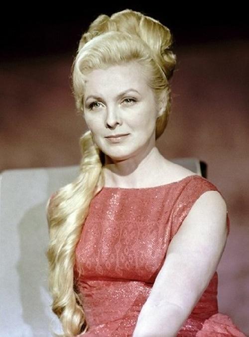 Soviet Latvian actress Vija Artmane (1929-2008)