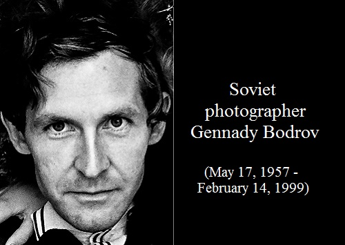 Soviet photographer Gennady Bodrov
