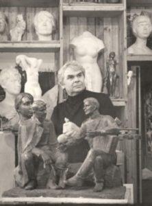 sculptor Albert Srgeyev