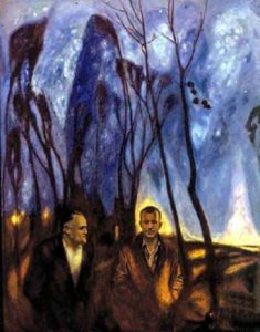 Soviet artist Boris Okorokov