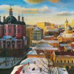 Soviet Russian artist Tatyana Nazarenko