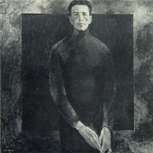 V.A. Sahnenko. People's artist of the USSR M.A. Savitsky. 1972
