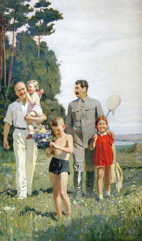 The image of Stalin in the Soviet art