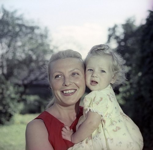 Vija with her daughter Chistiana