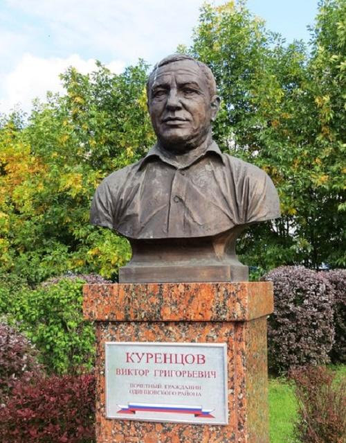 Viktor Kurentsov (born 1941). Sculptor Andrei Balashov, 2007