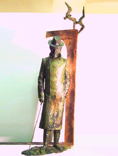 Walks at the seaside. Bronze. 2010