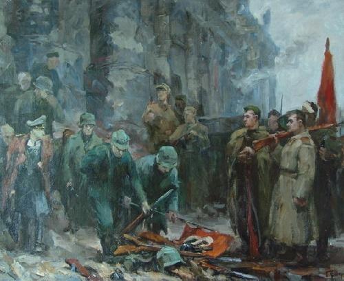 Painting by Soviet artist Boris Fyodorov
