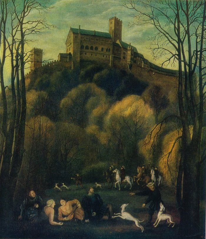 Wartburg. Evening. 1979