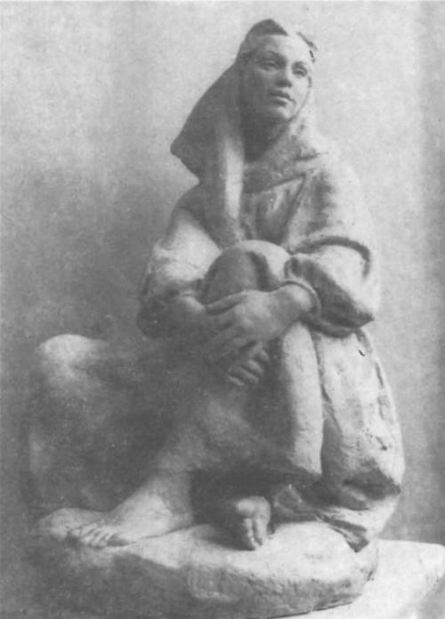 Soviet sculptor Yekaterina Belashova-Alekseyeva