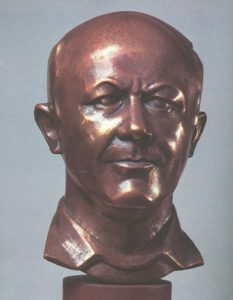 Yuri Senkevich. Wrought copper and wood. 1983