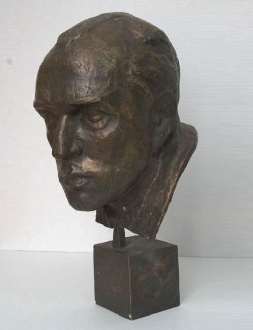 Portrait of coach AI Chernyshev. 1965