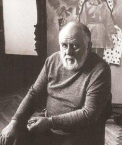 Soviet artist Andrei Mylnikov