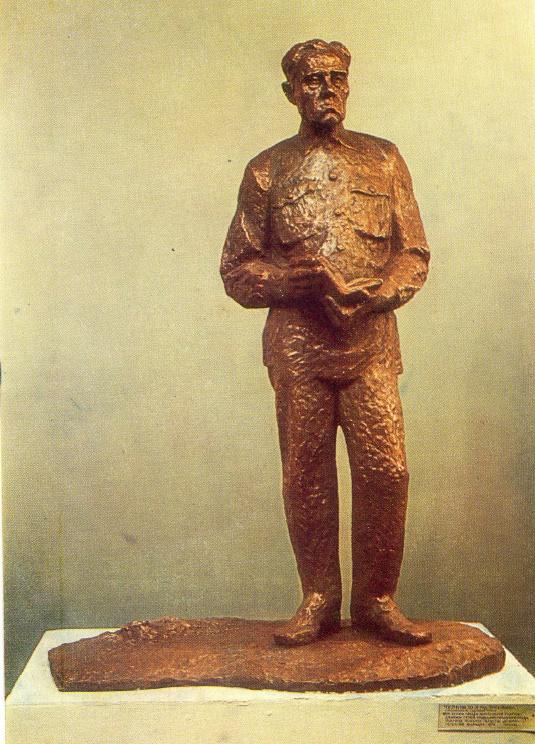 Twice hero of socialist labor T.S. Maltsev. Bronze
