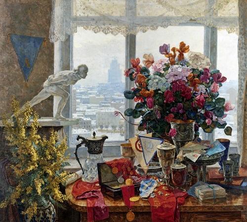 Soviet artist Anatoly Nikich-Krilichevsky